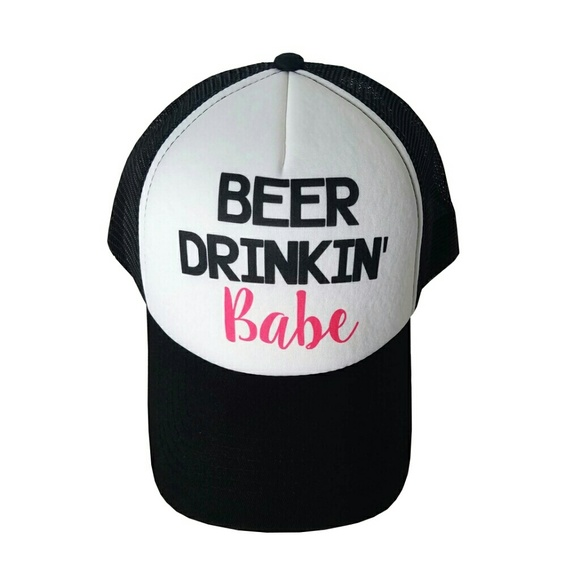 Lincoln Outfitters Accessories - Beer Drinkin' Babe Trucker Hat